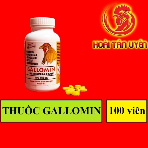 GALLOMIN dinh dưỡng nuôi cao cấp không nóng gà