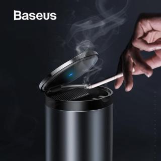 Hộp đựng tàn thuốc lá trên ô tô Baseus Portable Car Ashtray LED Light,thiết kế sang trọng, đèn LED thông minh dễ dàng sử dụng trong tối thumbnail