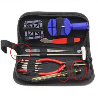 Bộ dụng cụ tháo lắp sửa chữa đồng hồ tiện dụng đầy đủ các chức năng MTS-1701 Tặng kèm Túi Đựng 9 món. dụng cụ sửa chữa đồng hồ, đồng hồ thumbnail