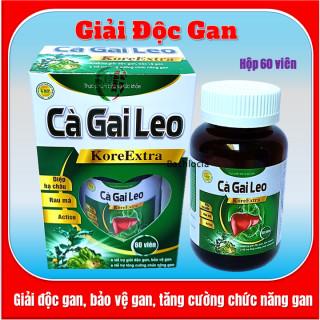 Viên uống bổ gan Cà Gai Leo Kore Extral,giúp giải độc gan, tăng cường chức năng gan, hạ men gan- Hộp 60 viên- HSd năm 2023 thumbnail
