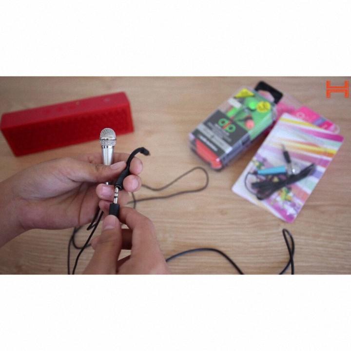 Micro Karaoke Mini Cầm Tay Hát Trên Điện Thoại