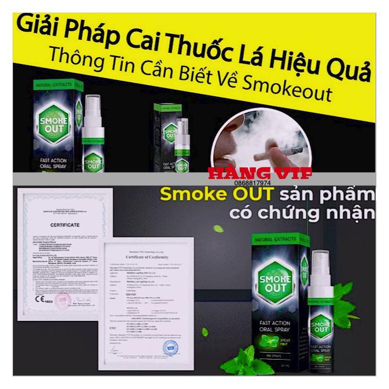XỊT CAI THUỐC LÁ Hiệu Quả_Smoke_Out v8 PRO VIP 1 (hàng chuẩn Nhập Khẩu_Nga) cao cấp