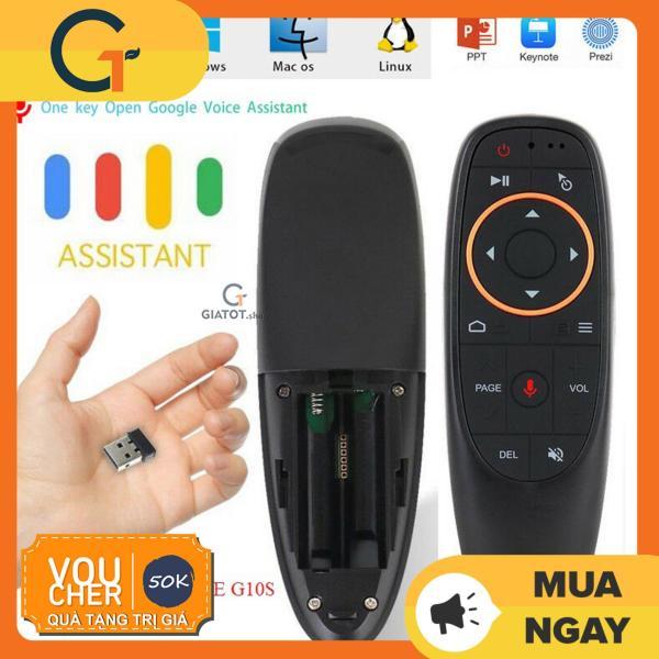 Bảng giá Chuột bay điều khiển giọng nói G10s học lệnh các loại điều khiển dành cho android box smart tivi Điện máy Pico