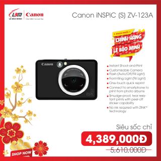 Máy ảnh mini ZV123 chụp ảnh và in ảnh, có kết nối điện thoại thông minh