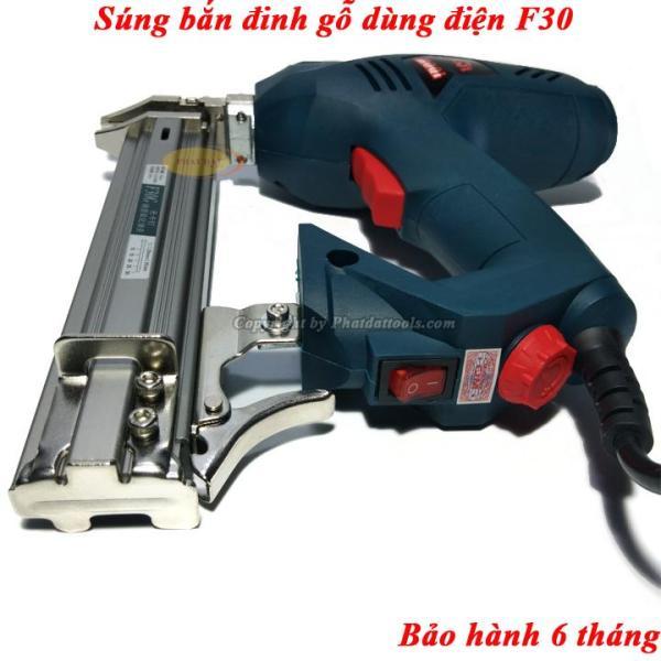 Sung bắn đinh gỗ F30 chạy điện