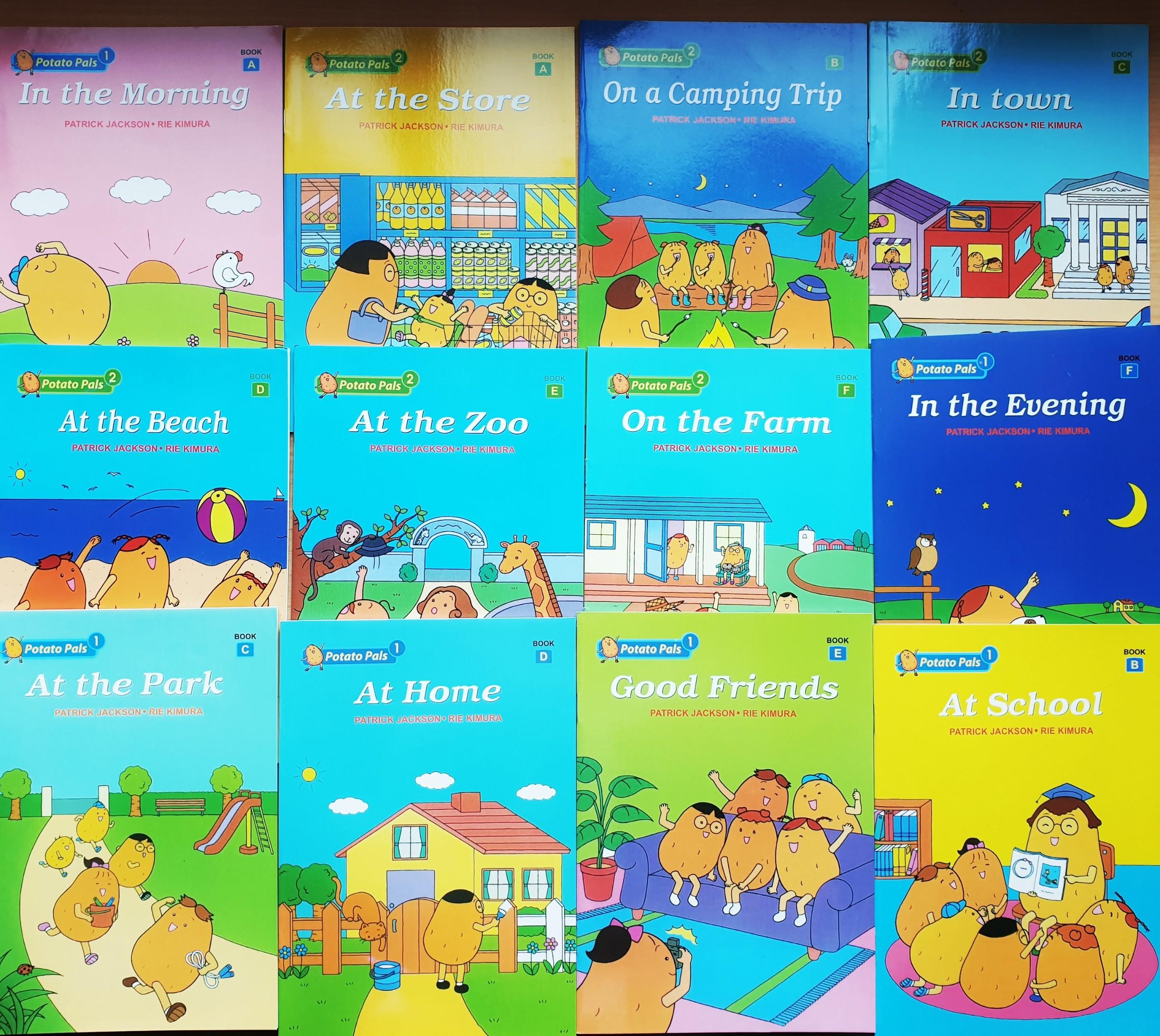 Mã Giảm Giá Bộ Sách Potato Pals Nhập Khẩu 12 Cuốn + File Nghe + Giấy Cán Bóng ( Ảnh Thật) - Truyện Tiếng Anh Cho Trẻ Em