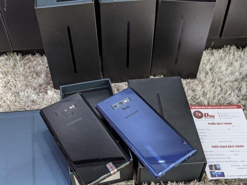 Điện Thoại SAMSUNG GALAXY NOTE 9 SSVN 2SIM MODEL N960F/DS FULLBOX || DÙNG FULL DỊCH VỤ SAMSUNG  || MUA HÀNG TẠI PLAYMOBILE