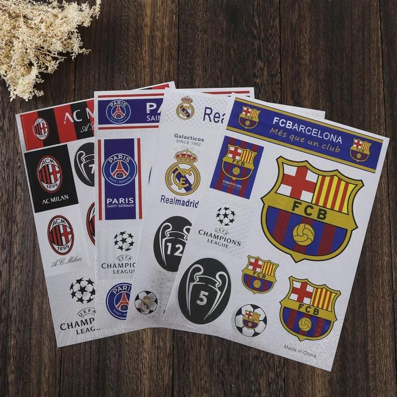 Decal CLB Bóng đá Arsenal, Real Madrid, Chelsea, Liverpool, Barca, Manunited Siêu Ưu Đãi tại Lazada