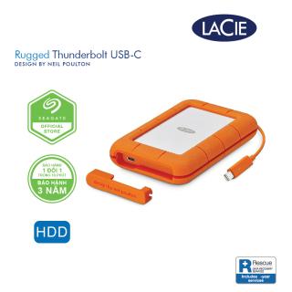 [Trả góp 0%]Ổ Cứng Di Động Chống Sốc Lacie Rugged Thunderbolt USB-C + Rescue Gói cứu dữ liệu thumbnail