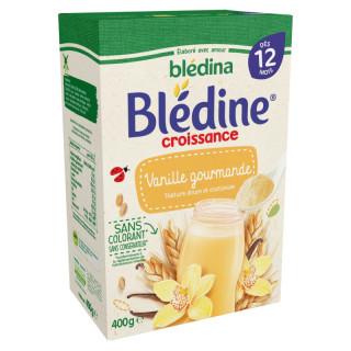 Bột pha sữa Bledina 12M vị vani 400g - Pháp thumbnail