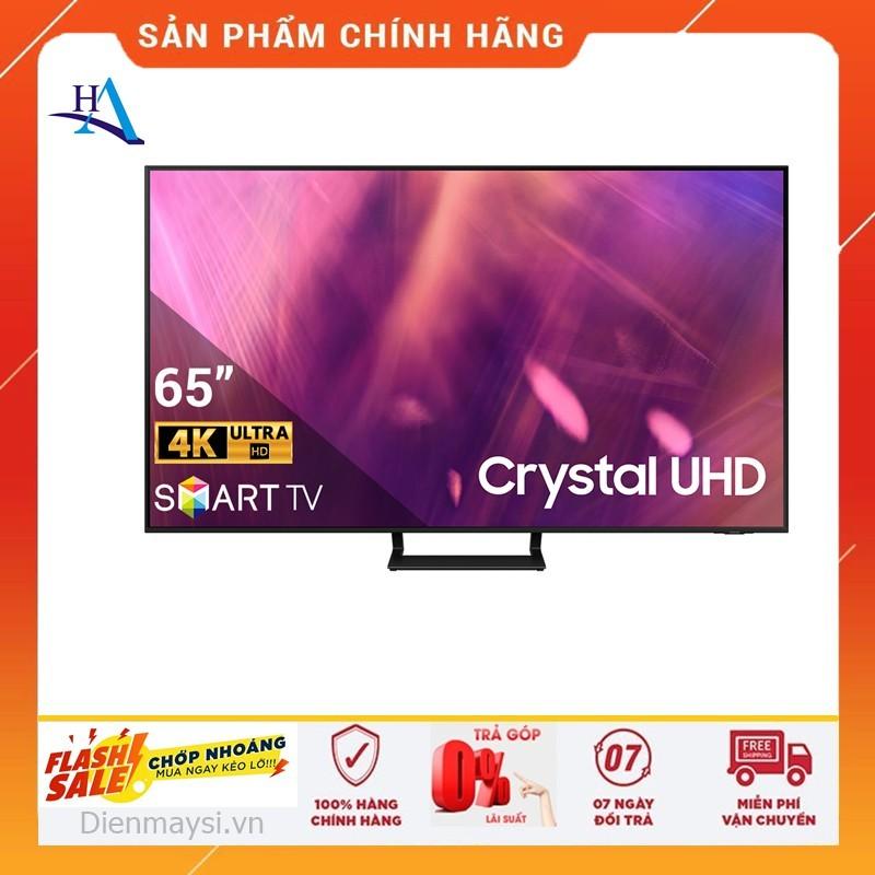 [HCM]Smart Tivi Samsung 4K UHD 65 Inch UA65AU9000KXXV (Miễn phí giao tại HCM-ngoài tỉnh liên hệ shop) chính hãng