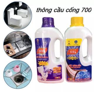 (THÔNG NHANH SIÊU TỐC) Chai Thông Cầu Cống 700ml - chai thông cống- Dụng Cụ Vệ Sinh-- Chăm Sóc Nhà Cửa - Làm Sạch Nhà Cửa - Vệ Sinh Toilet - Chất Tẩy Và Khử Mùi Bồn Cầu - Chất Tẩy Rửa - chất thông bồn cầu - chai thông toilet thumbnail