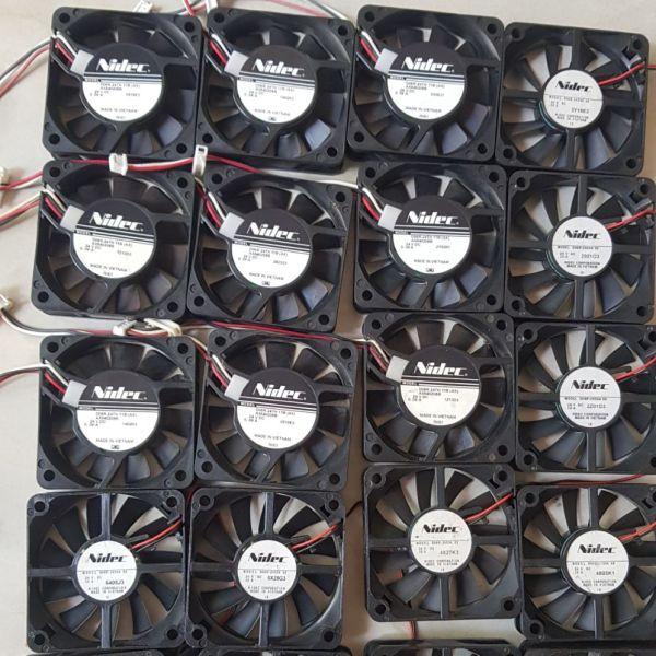 Bảng giá Quạt tản nhiệt Nidec 24V 6×6×1.5 tháo máy Nhật Điện máy Pico