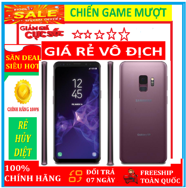 Samsung Galaxy S9 PLUS BẢN 2SIM RAM6/ 64GB NHẬP KHẨU HÀN QUÔC