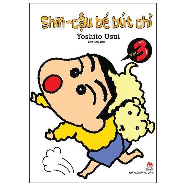 Sách -Shin - Cậu bé bút chì - Tập 3