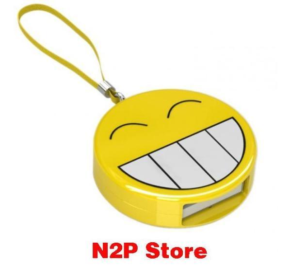 Đầu đọc thẻ nhớ MINI mặt cười emoji SSK SCR063