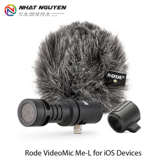 Micro Rode VideoMic Me-L cổng Lightning - Micro định hướng cho điện thoại iPhone/ Ipad - Bảo hành 12 tháng