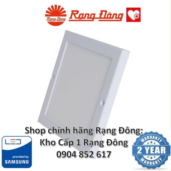 Đèn LED Ốp Trần Siêu Mỏng Rạng Đông 18W 220x220mm, ChipLED Samsung, Kiểu Dáng Hàn Quốc
