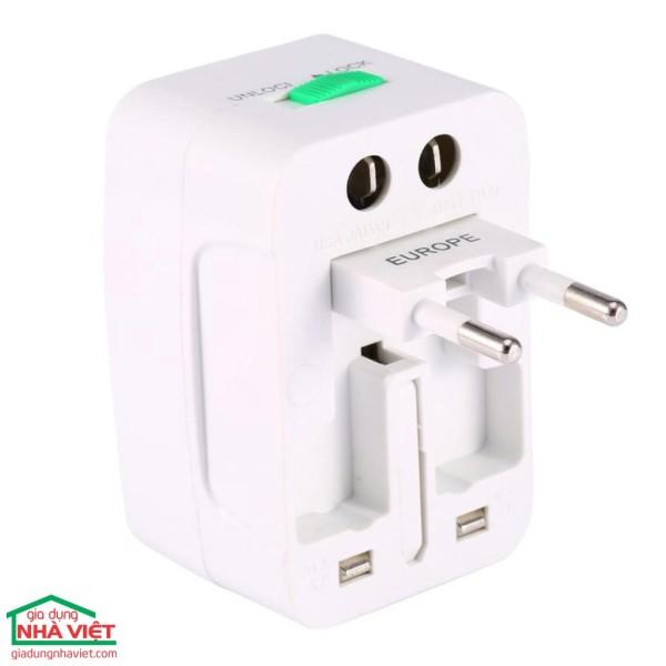 [HCM]Ổ cắm điện du lịch Universal Travel AC Adapter giá rẻ