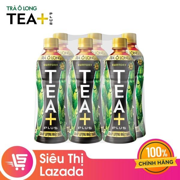 Lốc 6 Chai Trà Ô long Tea+ (350ml/Chai)
