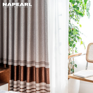 1 CÁI NAPEARL Rèm cửa sổ tối giản hiện đại 70% cho phòng ngủ của bạn thumbnail