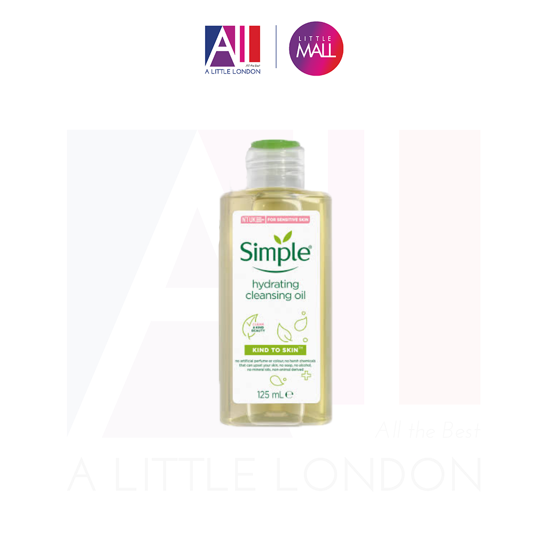 Dầu Tẩy Trang Simple Kind to Skin Hydrating Cleansing Oil (Bill Anh)