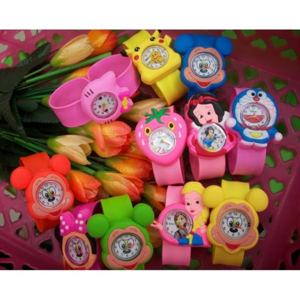 Nơi bán 💚đồ trẻ em] Đồng hồ dành cho bé Nam & Nữ tạo kiểu con vật ngộ nghĩnh