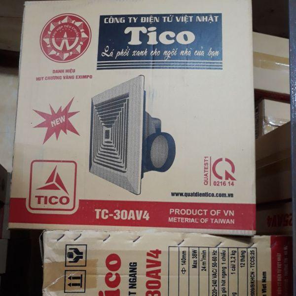 Quạt âm trần hút ngang 30Av4 Tico