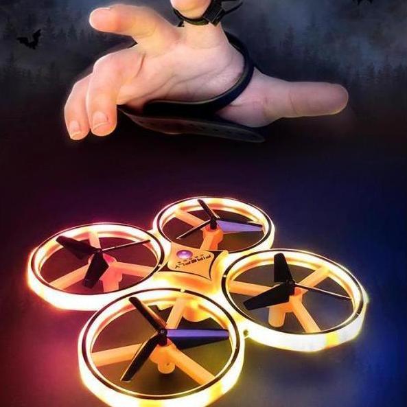 Máy Bay điều Khiển Từ Xa Bằng Cử động Tay Như Iron Man - Air Craft 2.4G Cùng Giá Khuyến Mãi Hot