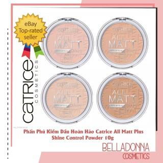 [Best Seller] Phấn phủ kiềm dầu hoàn hảo Catrice All Matt Plus Shine Control Powder 10g thumbnail