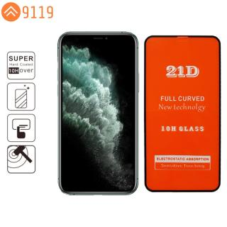 [HCM]KÍNH CƯỜNG LỰC 21D IPHONE 11 PRO MAX FULL KEO FULL MÀN HÌNH - 9119 STORE thumbnail