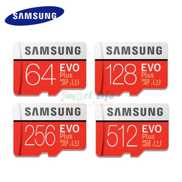 [HCM][BH 24T] Thẻ nhớ Micro SDXC Samsung EVO+ Chính hãng