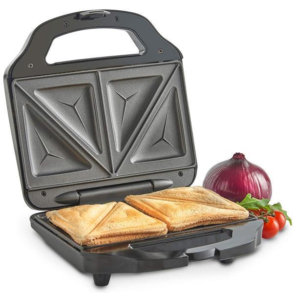 [ NHANH-TIỆN-RẺ ] Máy Nướng Bánh Mì Sandwich Sokany,Máy Nướng Bánh Điều Khiển Nhiệt Độ Tự Động, Máy Làm Bánh Nướng, Bánh Mì Cho Bữa Ăn Sáng Tại Nhà Máy Nướng Bánh Mỳ Hình Tam Giác Đa Chức Năng Hai Mặt, Thép Không Gỉ Không Dính