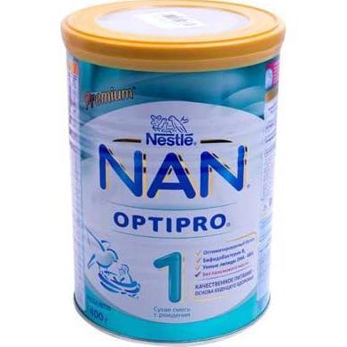 Sữa NAN Nga số 1 hộp thiếc 400 gram (0-6...