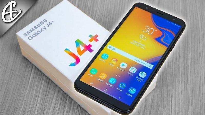 SAMSUNG J4+ (Phân phối chính hãng - Nguyên Hộp)