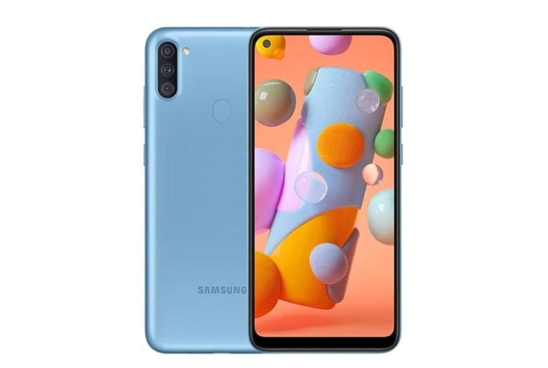 Điện thoại Samsung Galaxy A11 32GB (3GB RAM) - Màn hình tràn viền vô cực Infinity-O 6.4 inch - Sim kép - Pin 4000mAH