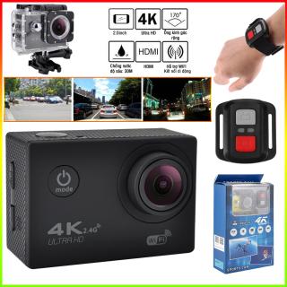 Camera hành trình Sport 4K UltraHD - Hỗ trợ kết nối WIFI, có thể điều khiển Camera qua ứng dụng XDV chống nước, chống rung. phù hợp cho việc ghi lại các cảnh quay khi đang lưu thông. Camera hành trình ô tô, xe máy thumbnail