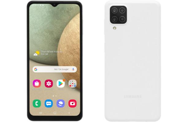 Samsung Galaxy A12 (Ram 4GB / 128GB), Màn Hình 6.5 HD+, bộ 4 camera sau, Dung Lượng Pin 5.000mAh, Có Sạc Nhanh.