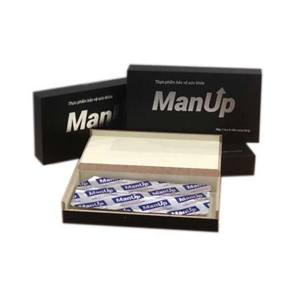 ManUp hỗ trợ tăng cường sinh lý nam từ công ty Sao Thái Dương (Hộp 6 Viên)(Che tên sản phẩm kín đáo khi giao hàng)