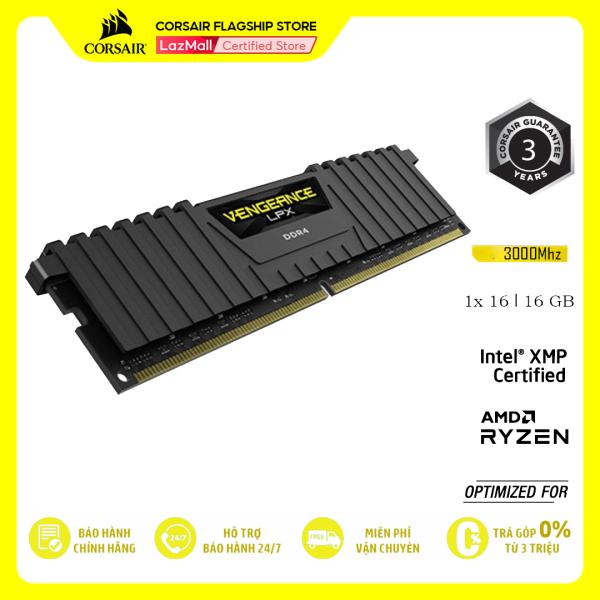 Bảng giá RAM PC CORSAIR VENGEANCE LPX 16GB DDR4 1x16G 3000MHz CMK16GX4M1D3000C16 Phong Vũ