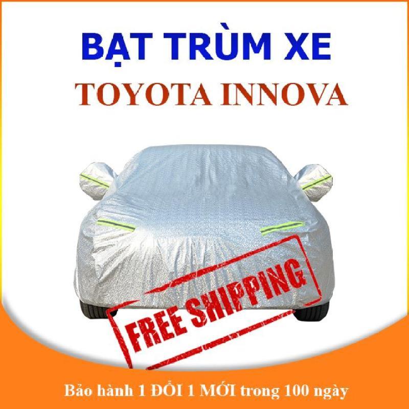 Bạt che phủ xe ô tô Toyota Innova cao cấp, bạt phủ xe ô tô 7 chỗ chống nắng mưa, bạt che nắng