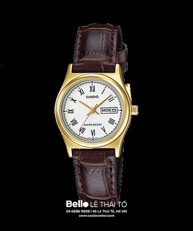 Đồng hồ Casio Nữ LTP-V006GL-7B chính hãng giá rẻ - Bảo hành 1 năm - Pin trọn đời