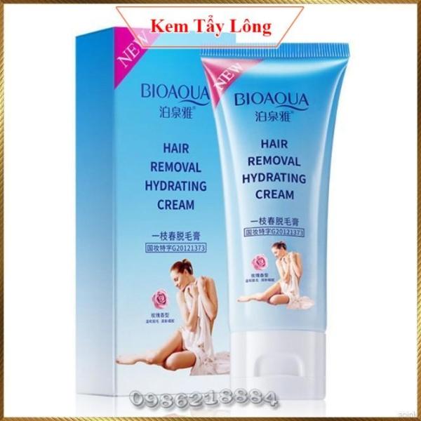 Kem tẩy lông toàn thân Không Đau Bioaqua Hair Removal Hydrating Cream BHR7