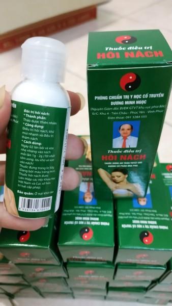 Combo 1 liệu trình 2 lọ phấn lạnh khử mùi hôi nách Dương MInh Ngọc 50ml