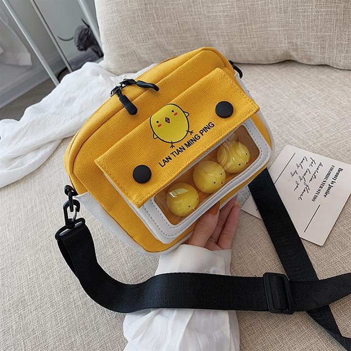 Túi đeo Chéo Gà Con Phong Cách Hàn Quốc TXN93 Shoptienich Đang Khuyến Mại Khủng
