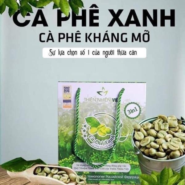 Cà phê xanh-Cà phê kháng mỡ,giảm cân-Sản phẩm chính hãng Cty Thiên Nhiên Việt