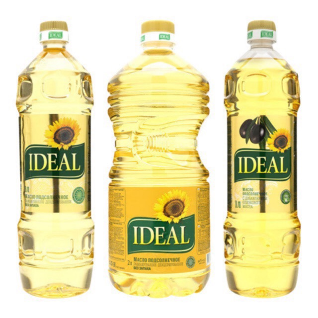 Dầu ăn hướng dương Ideal-chai 1 lít cam kết hàng đúng mô tả chất lượng đảm bảo an toàn đến sức khỏe người sử dụng