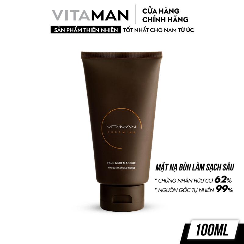Mặt Nạ Bùn Dành Cho Nam Vitaman Grooming Face Mud Masque 100ml giá rẻ