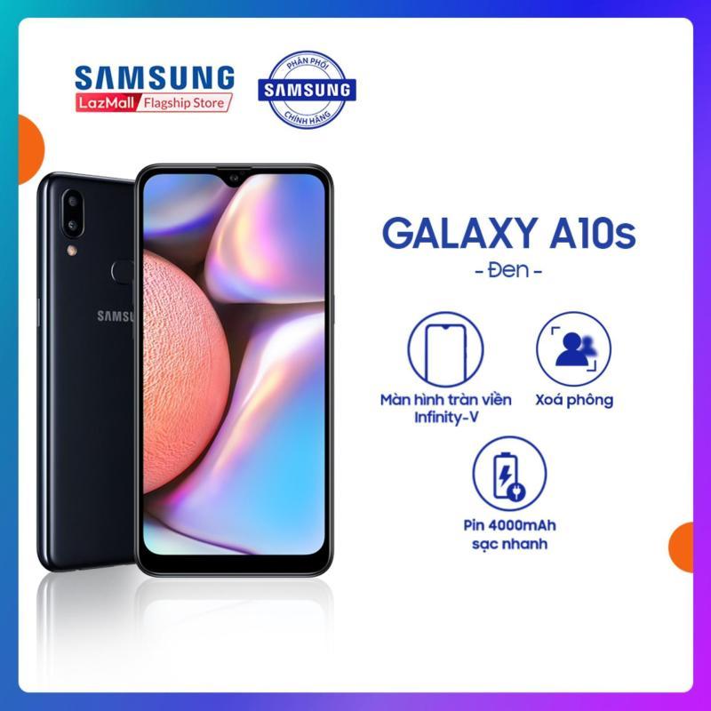 Điện Thoại Samsung Galaxy A10s 32GB - Màn hình tràn viền 6.2 + Công nghệ nhận diện khuôn mặt + Cảm biến vân tay một chạm mặt lưng + 2 camera sau + Pin 3500mAh - Hàng Phân Phối Chính Hãng