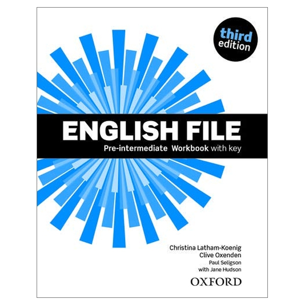 Fahasa - English File: Pre-intermediate. Workbook with key and iChecker